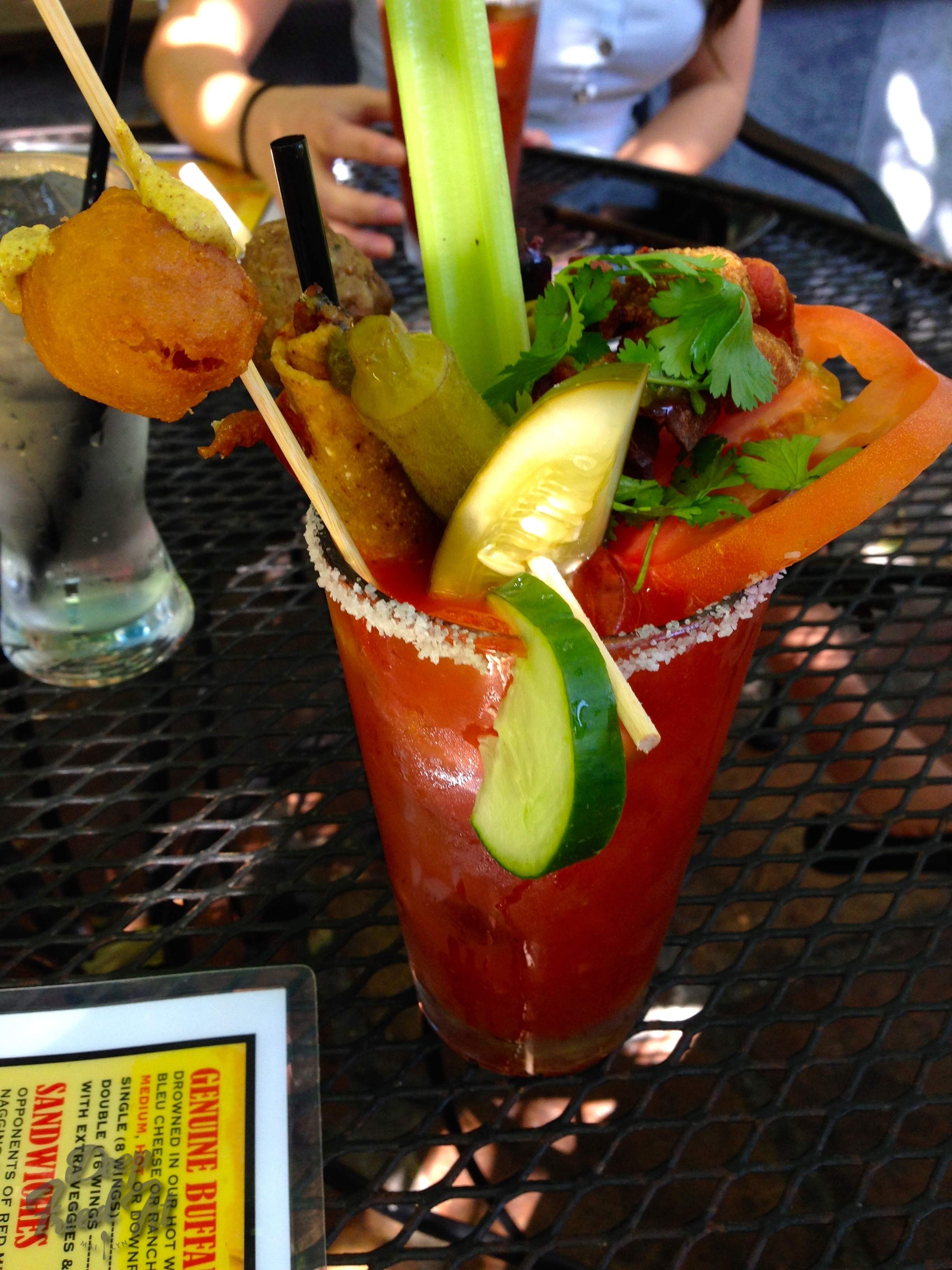Over-the-top Bloody Mary